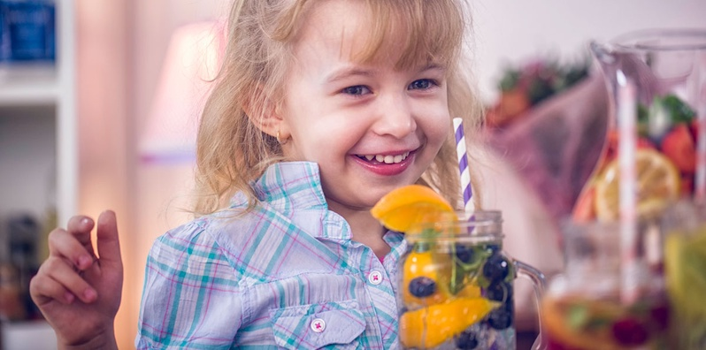 Live Discussion and Activity on Cool Drinks for Kids class image