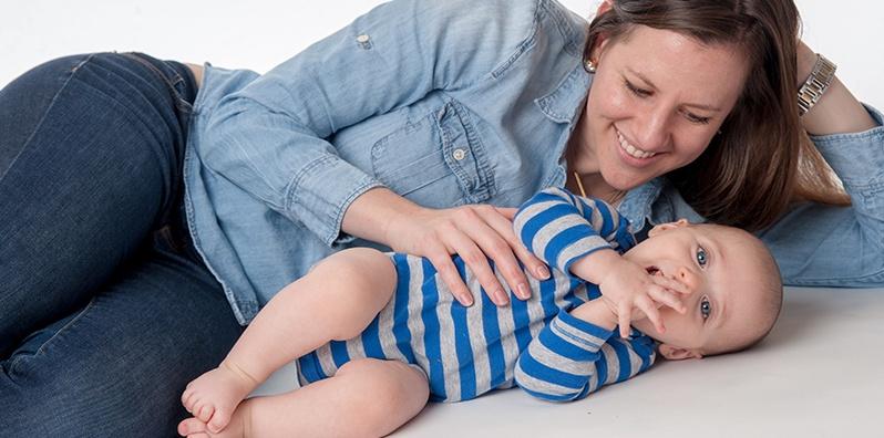 Nutrición y autocuidado para la nueva mamá class image