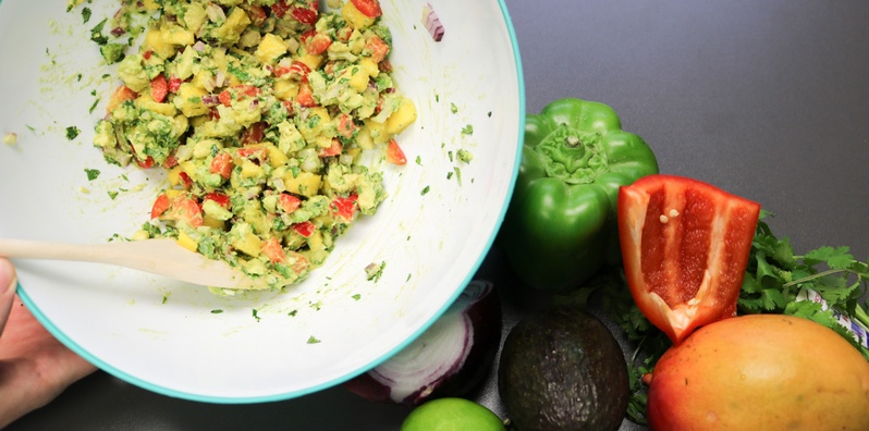 Live Activity — Let's Get Cooking: Mango Lime Salsa for the Family!  class image